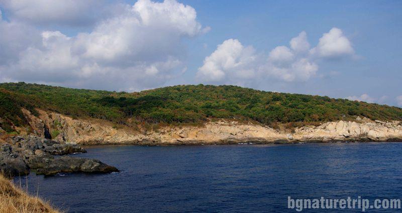 Заливът Зигра, който служел на пирати да дебнат кораби в засада