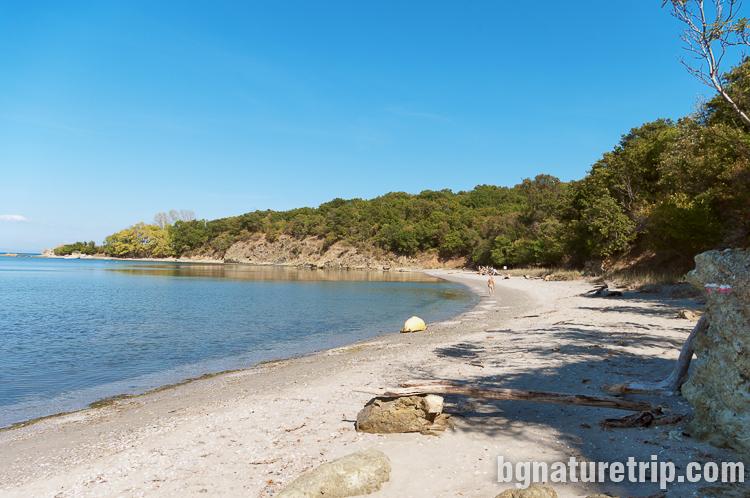 Друг плаж преди нос Св. Димитър