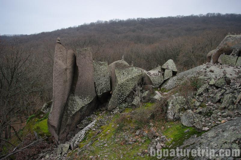 Приморско резерват Ропотамо-скала-разцепена-ерозия2