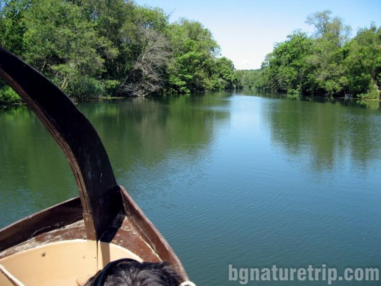 Велека лодка-разходка природа