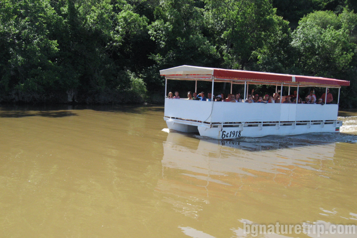 река-Ропотамо-лодка-разходка-екскурзион-атракция-устие-река-лонгозни-гори