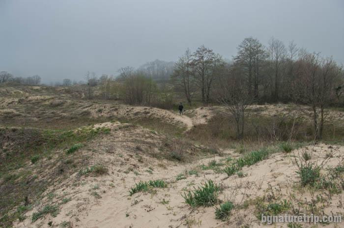 През пясъчните дюни на Аркутино