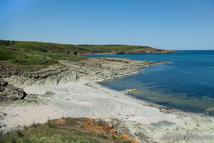 Девствен и чист плаж Листи при Синеморец