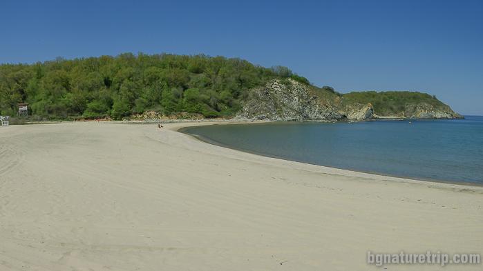Плажът Силистар между Синеморец и Резово