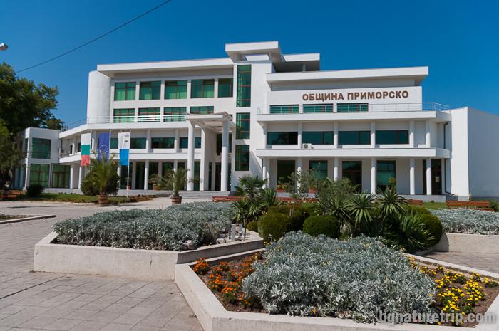 Сграда на община Приморско