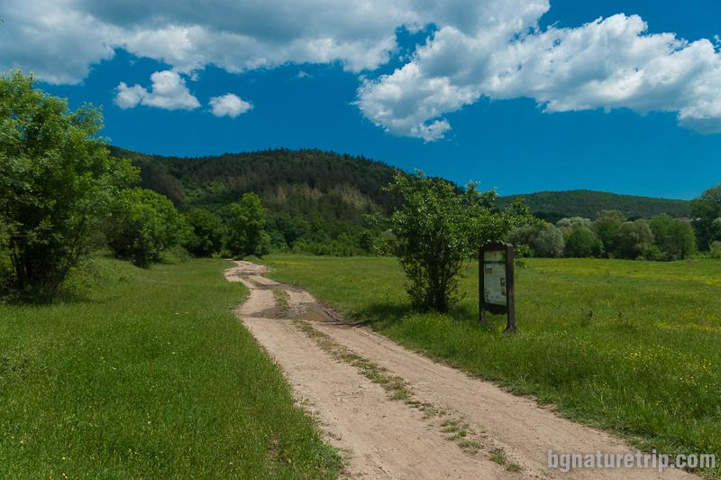 Началото на екопътеката село Кости, Странджа