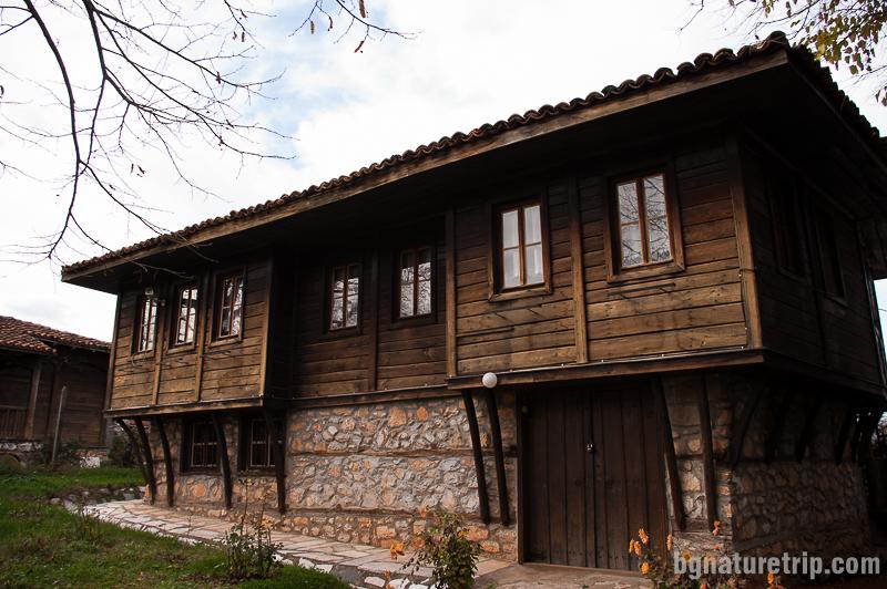 Сградата с етнографска експозиция от музеите на Малко Търново