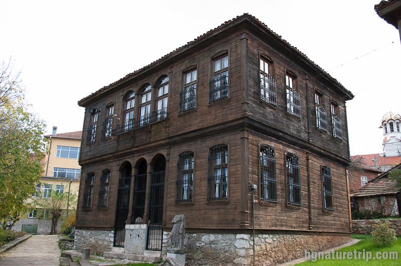 Сградата с историческа експозиция в Малко Търново