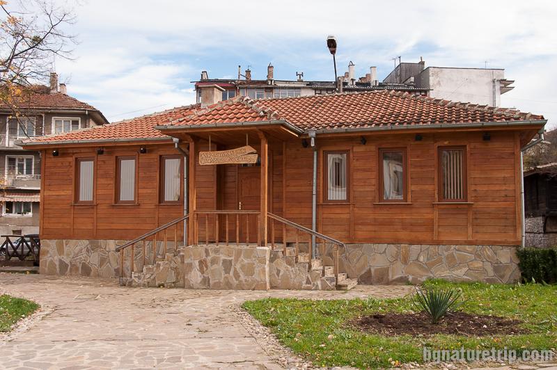 Сградата на туристически информационен център Малко Търново