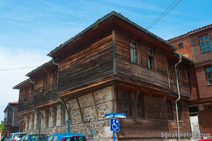 Стари созополски къщи на полуостров Скамния, Созопол