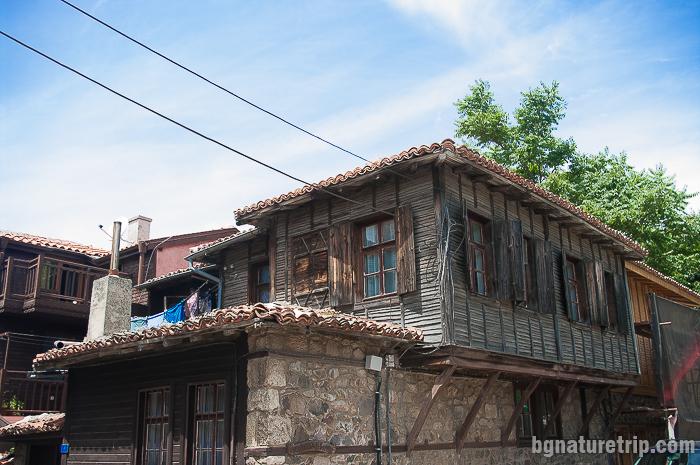 """Стари созополски къщи на полуостров Скамния, Созопол - """"Старият град"""""""