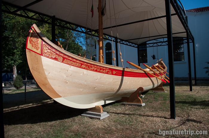 Лодка аламана - основната рибарска лодка в миналото по българското Черноморие