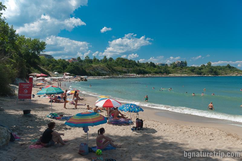 Централният плаж на Царево