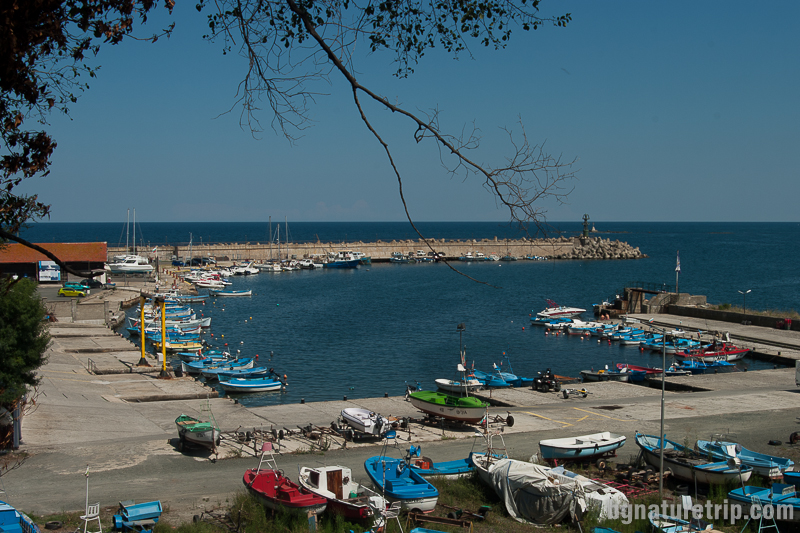 Пристанището на Царево