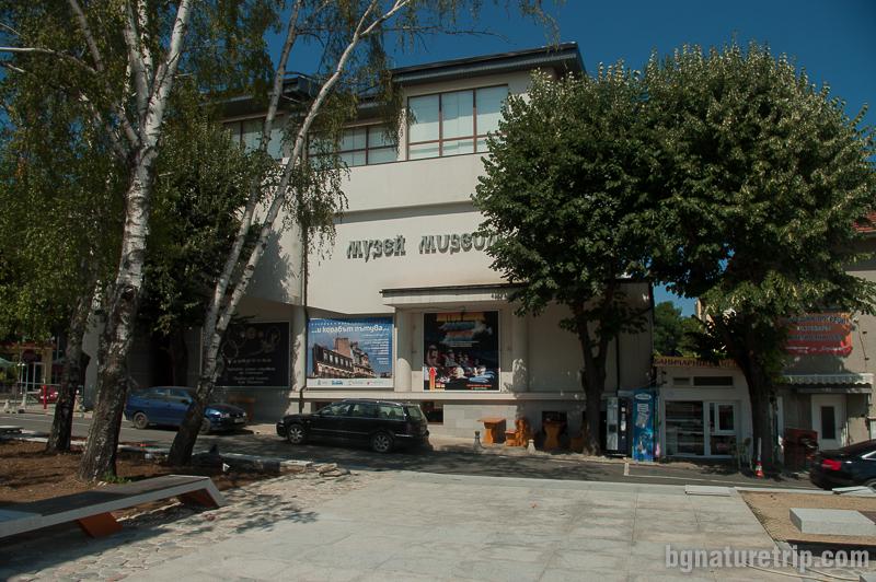 Сградата на музея в центъра на Царево