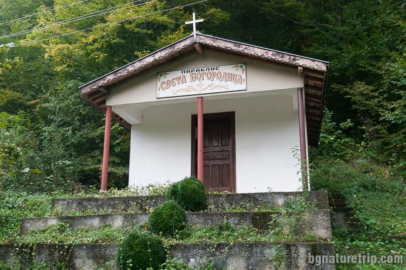 """Параклис """"Св. Богородица"""" в местността Качул"""