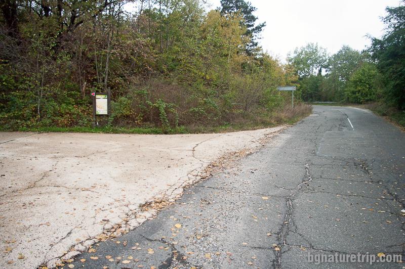 Отбивка към Мишкова нива край Малко Търново