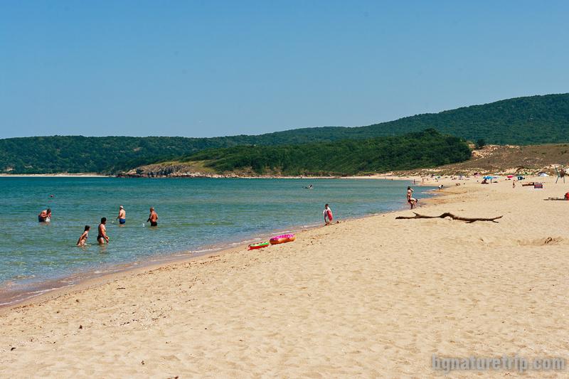 Плаж Аркутино и резерват Ропотамо