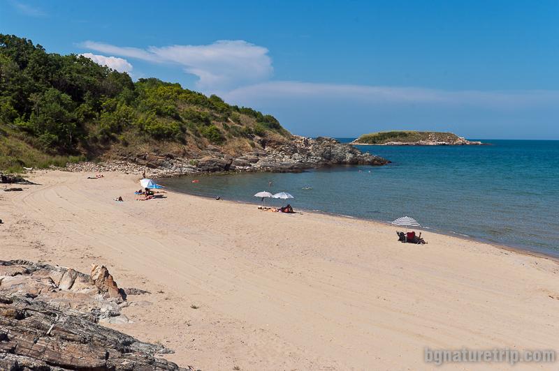 Плаж Аркутино и Змийският остров