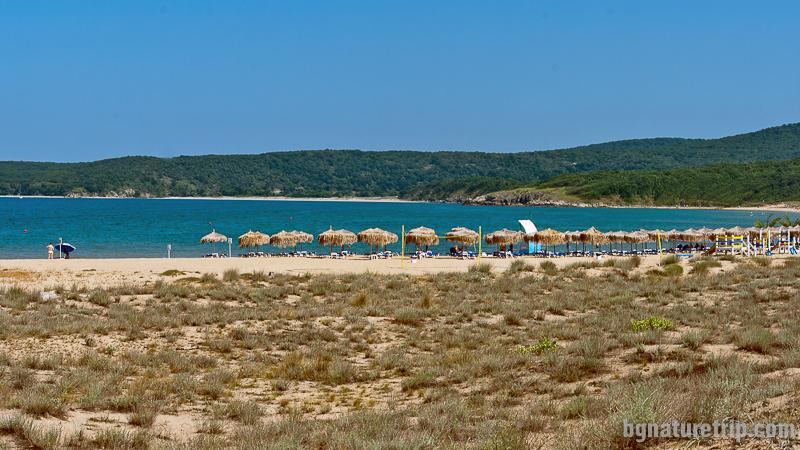 Плаж Аркутино - охраняема част