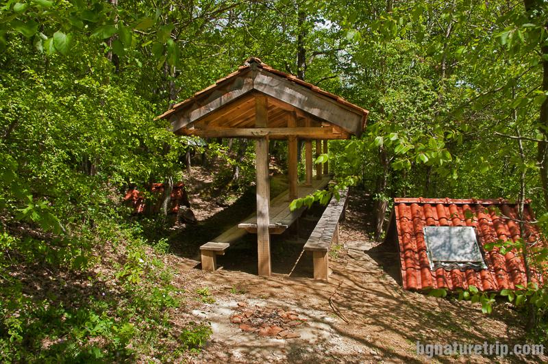 Заслонът с огнище край Двата вриса - село Бръшлян в Странджа