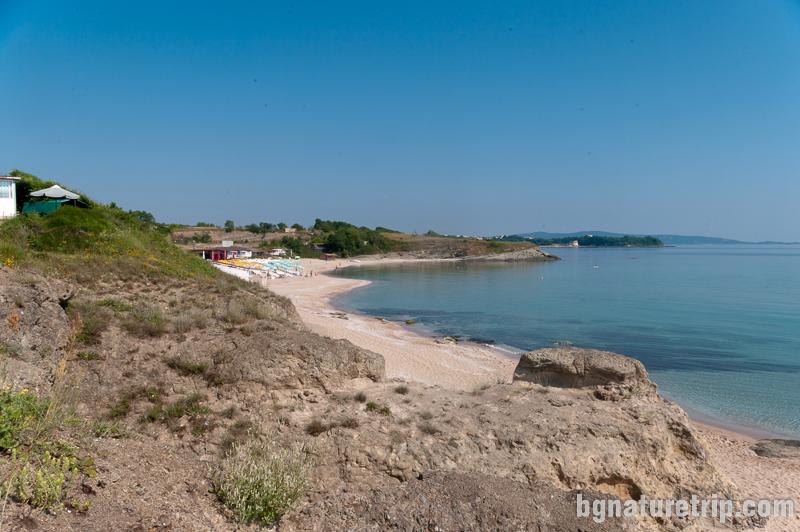 Къмпинг Юг - южната част на плажната ивица