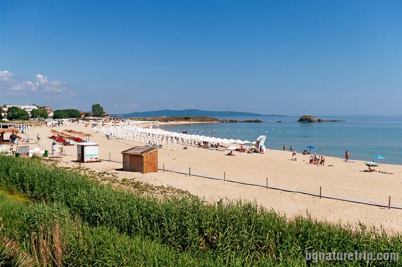 Централен плаж на Лозенец