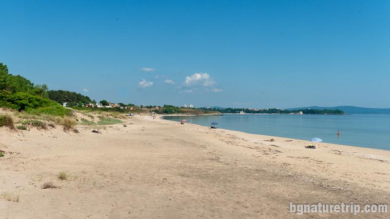 Плаж Корал - просторна и дълга плажна ивица