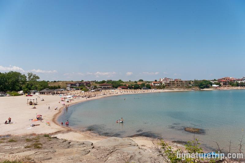 Къмпинг Арапя - изглед към плажа