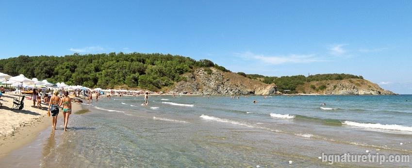Плажът Силистар през лятото
