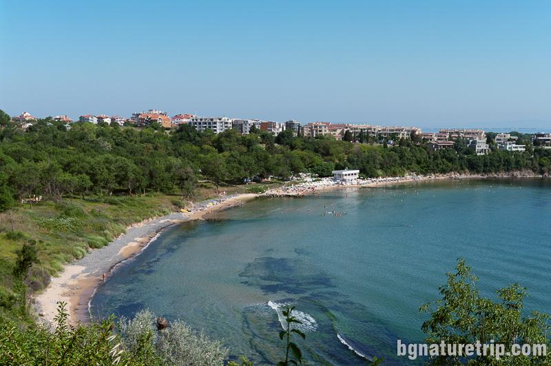 Южен плаж Черноморец (къмпинг Чернморец )