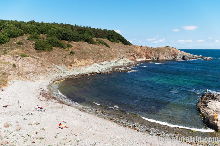 Заливът Кастрич - изглед към северния нос