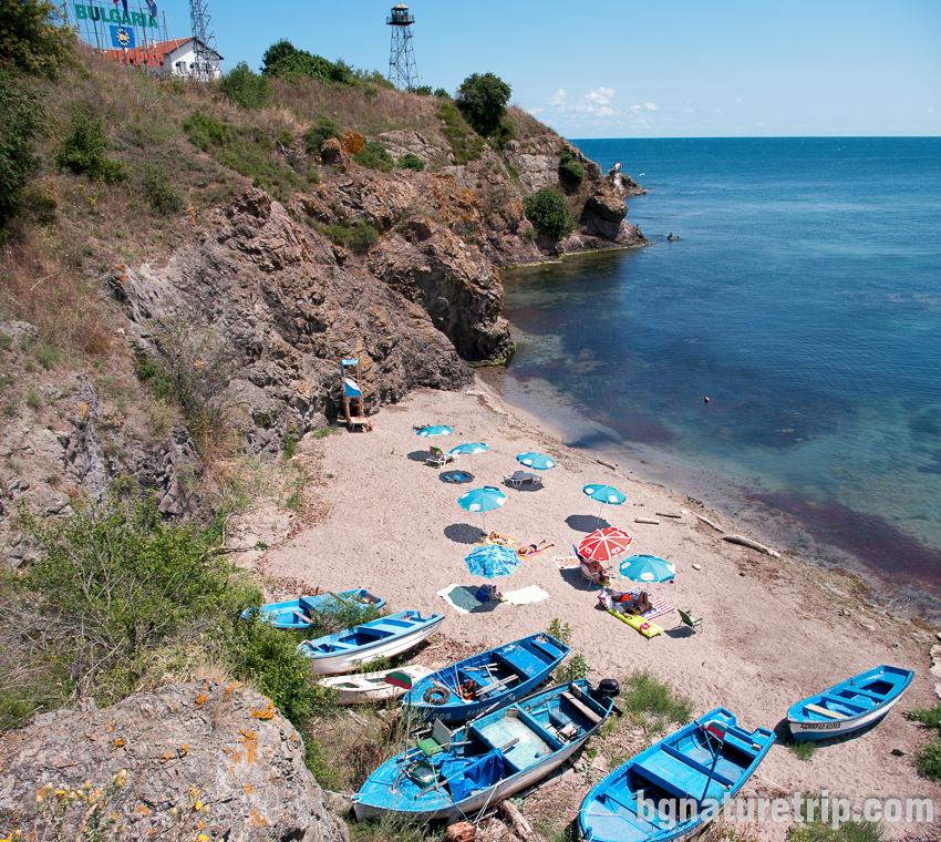 Плажът на Резово