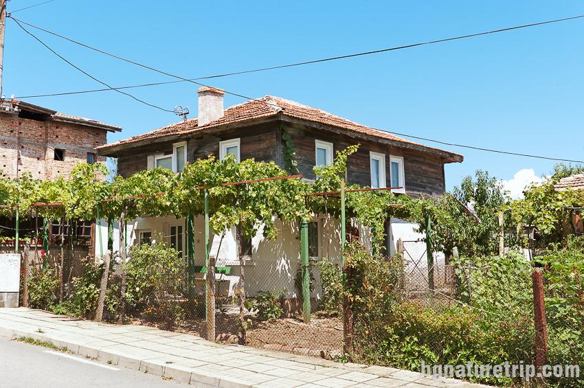 Сртранджанска къща в Резово