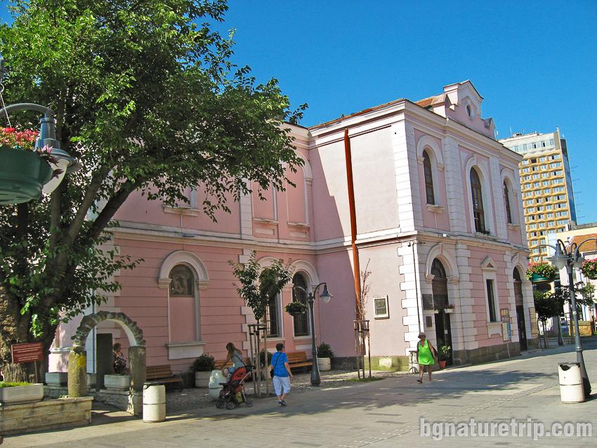 Археологически музей в Бургас