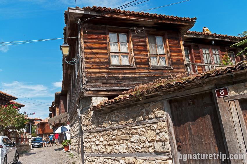 """Стара къща в Несебър, """"Старият град"""""""