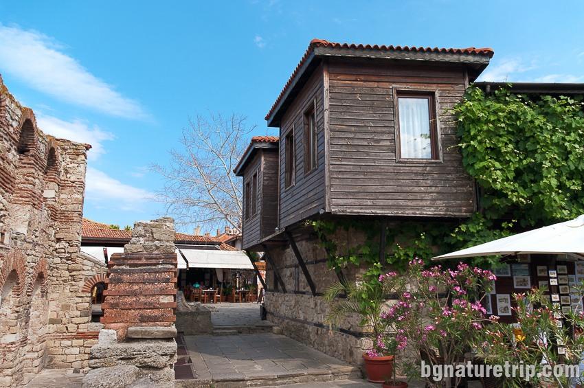 """Друга стара къща в Несебър, """"Старият град"""""""