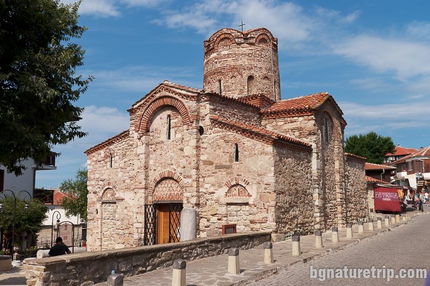 """Църквата Св. Йоан Кръстител в Несебър, """"Старият град"""""""