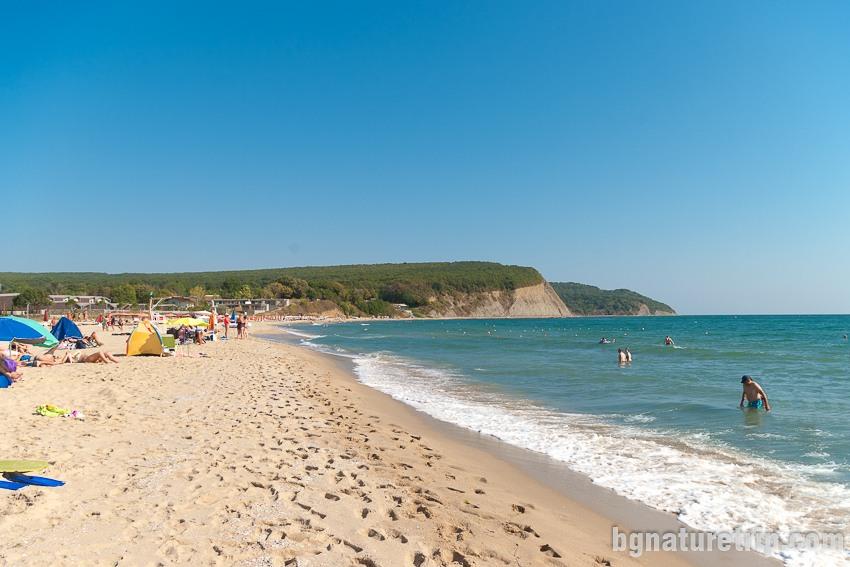 Плаж Иракли - поглед на север към носа