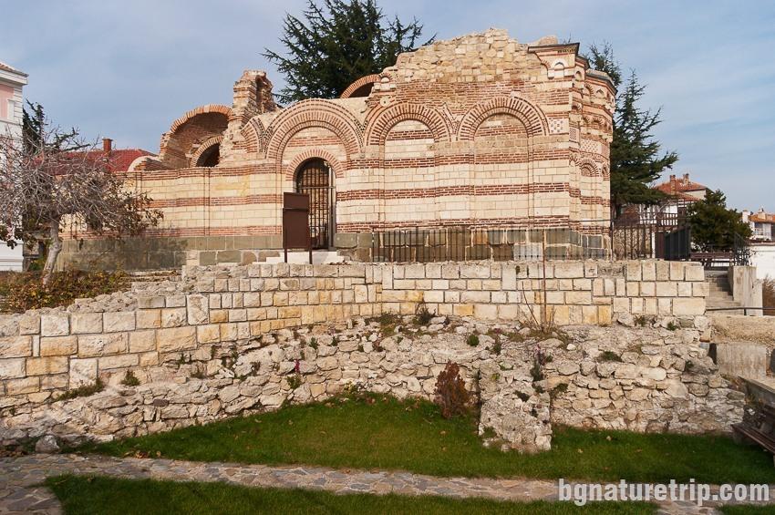 """Църквата Св. Йоан Алитургетус в Несебър, """"Старият град"""""""