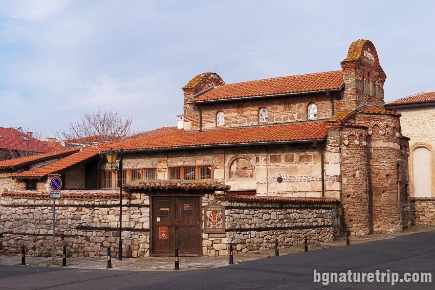 Църквата Св. Стефан в Несебър - Стария град