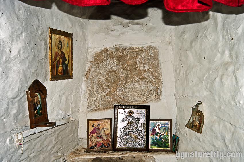"""Олатърът на параклиса """"Св. Георги до Заберново в Странджа"""