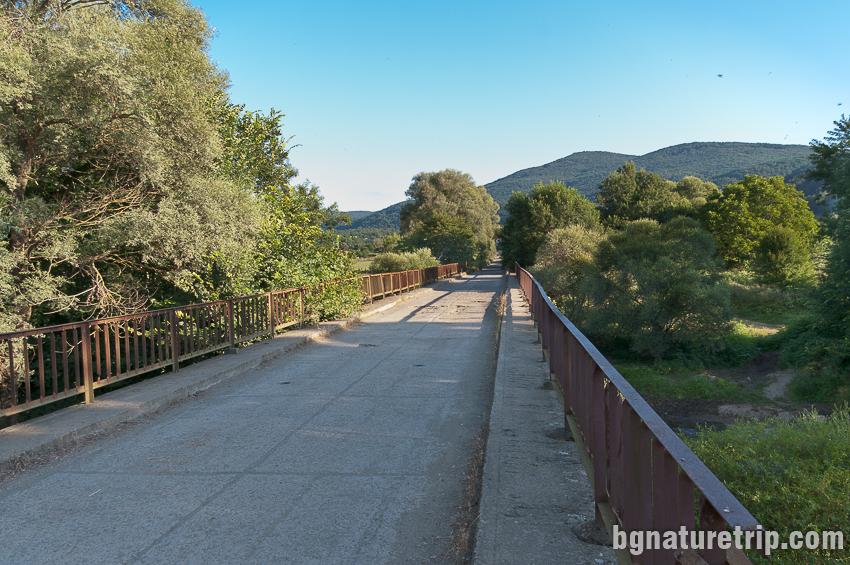Бродилово - мостът на река Велека