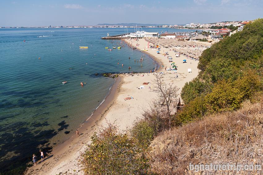 Северен плаж на Свети Влас
