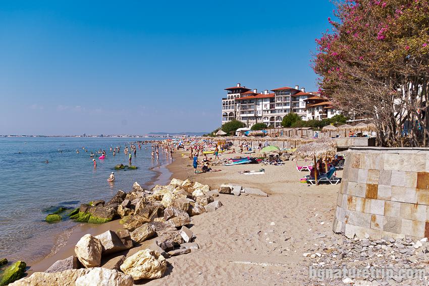 Плаж Изток в Свети Влас