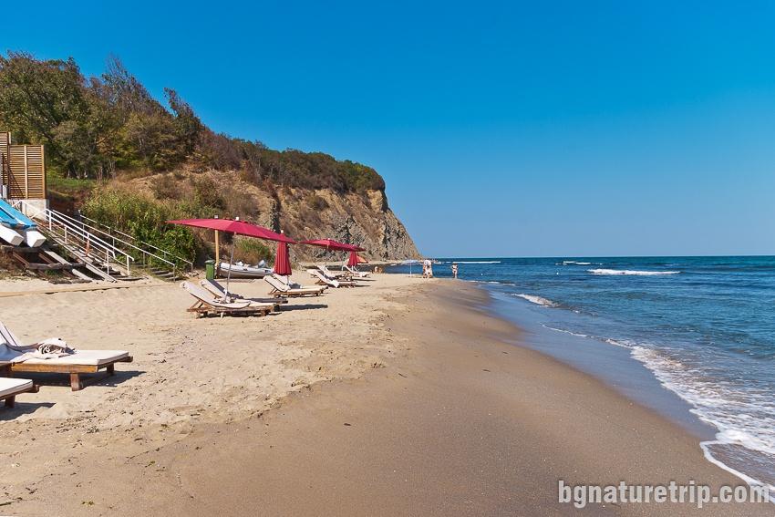 Плаж Иракли - участък Вая