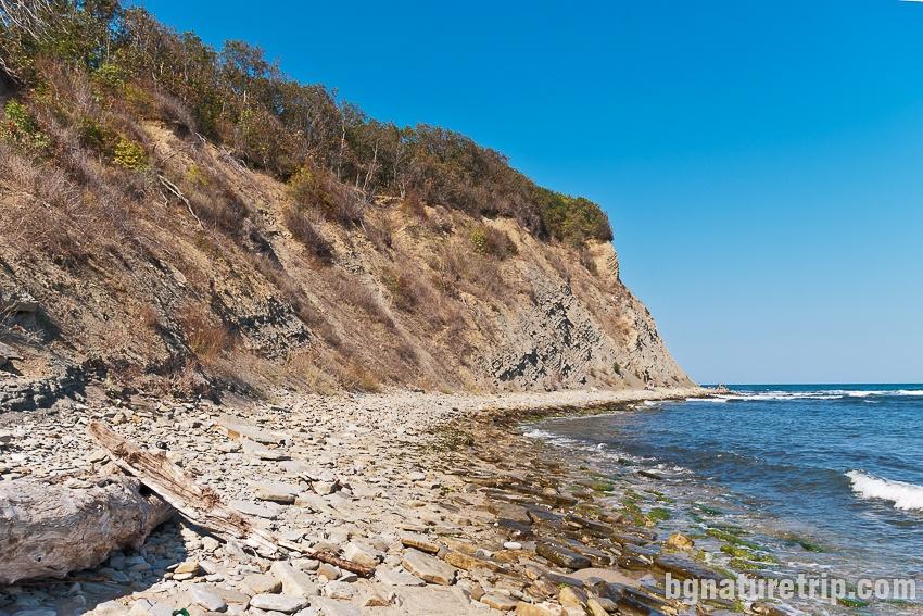 Безименен нос в северния край на плаж Иракли