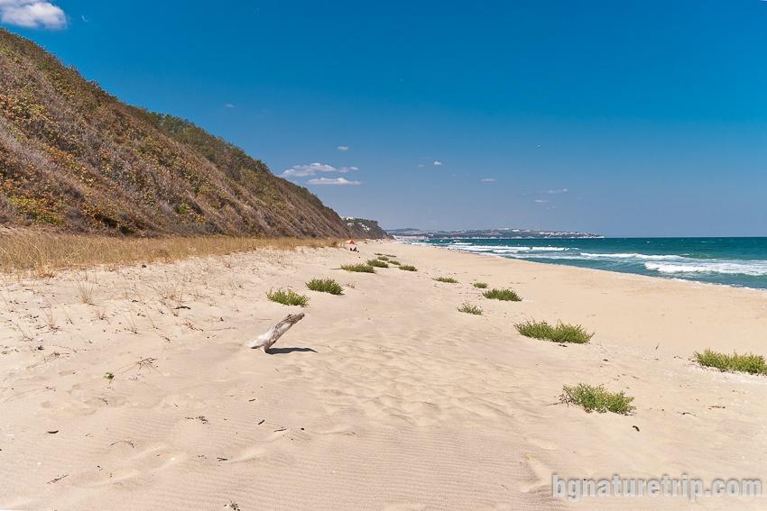 Южен плаж Обзор - див участък, подходящ за нудисти