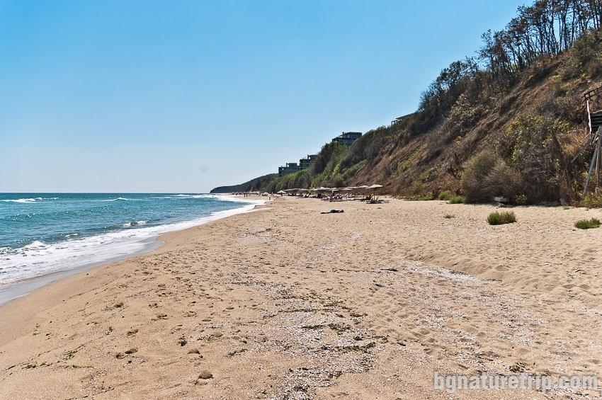 Южен плаж Обзор - охраняем участък