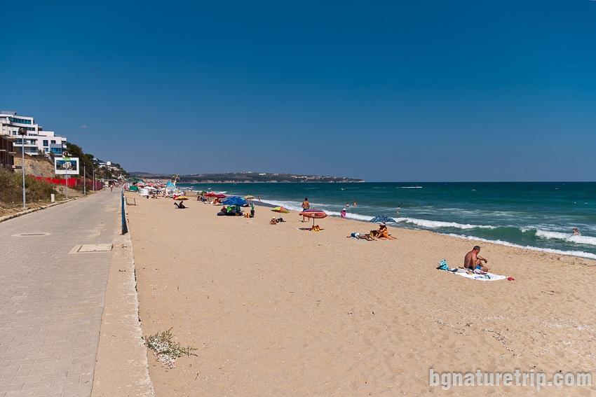 Южна част на Централен плаж Обзор